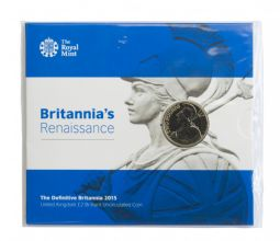 2015 Renaissance £2 Brilliant Uncirculated pack for sale